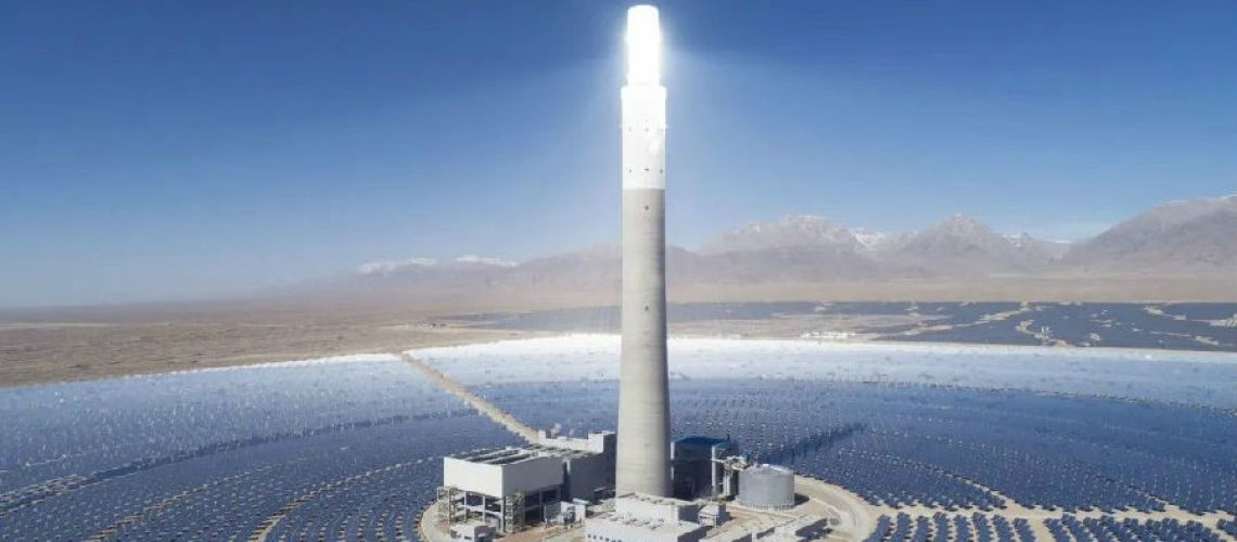 China-Supcon-Delingha-50-MW-Concentrated-Solar-Power